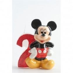 Vela Numero 2 Mickey Mouse
