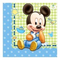 Set 20 servilletas Mickey...