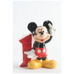 Vela Numero 1 Mickey Mouse