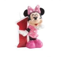 Vela Numero 1 Minnie Mouse