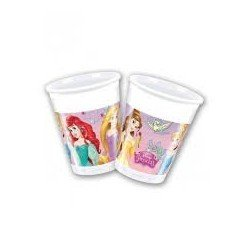 Pack 8 Vasos Princesas Disney