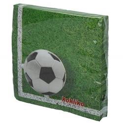 Set 20 servilletas fútbol