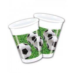 Pack 8 Vasos fútbol