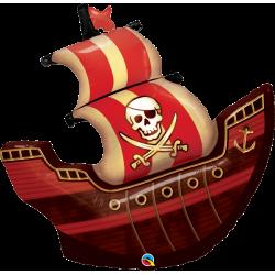 """Globo de Barco Pirata 40"""""""
