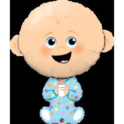 "Globo Bebé niño 37"""