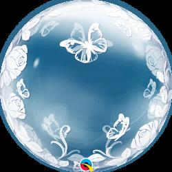 Globo burbuja Mariposas