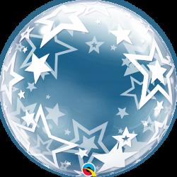 Globo burbuja estrellas
