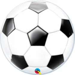 Globo bubble fútbol