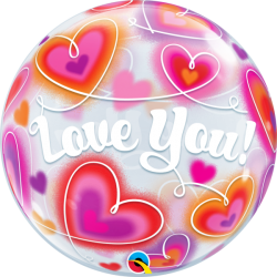 Globo bubble Love you
