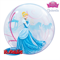 Globo bubble Cenicienta