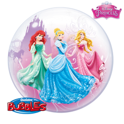 Globo bubble Princesas