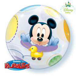 Globo bubble Mickey bebé