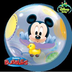 Globo Burbuja Mickey bebé