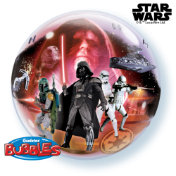 Globo bubble Star Wars...
