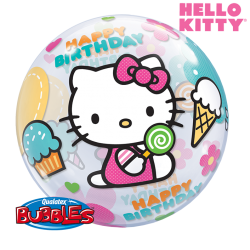 Globo Burbuja Hello Kitty