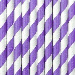 Pajitas de papel - Lila