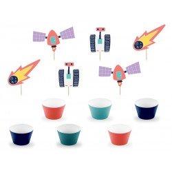 Fiesta espacial - Kit Cupcakes