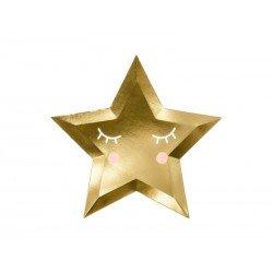 Platos Estrella dorada con...