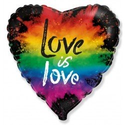 Globo Love is Love arcoiris...