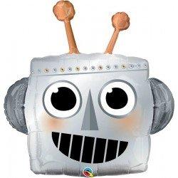 Globo Forma Cabeza de Robot