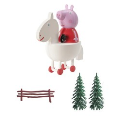 Decoración Tartas - Peppa Pig