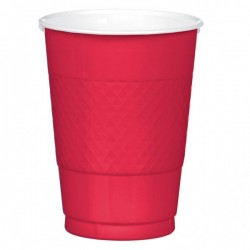 Vasos desechables Apple Red...
