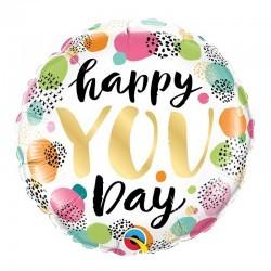 Globo Redondo - Happy YOU DAY