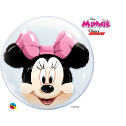 Globo Burbuja Doble - Minnie