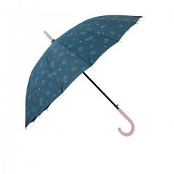 Paraguas grande azul -...