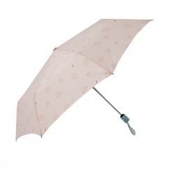 Paraguas mediano rosa -...