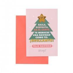Postal Navidad - Te mereces...
